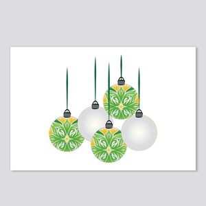 Holiday Ornaments Postcards (Package of 8)
