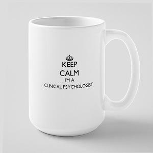 Keep calm I'm a Clinical Psychologist Mugs