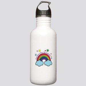 Over The Rainbow Water Bottle
