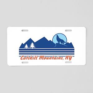 Catskill Mountains NY Aluminum License Plate