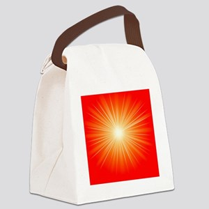 Art for Mindfulness Canvas Lunch Bag