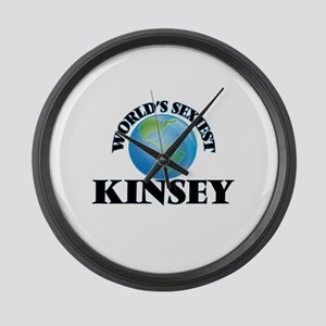 World's Sexiest Kinsey Large Wall Clock