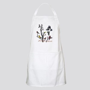 Backyard Birds BBQ Apron