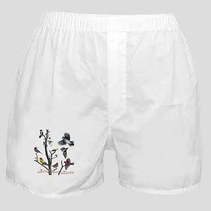 Backyard Birds Boxer Shorts