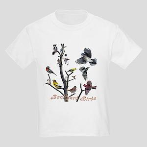 Backyard Birds Kids Light T-Shirt