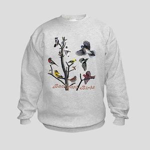 Backyard Birds Kids Sweatshirt