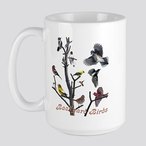 Backyard Birds Large Mug