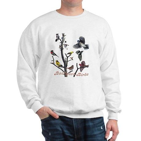 Backyard Birds Sweatshirt