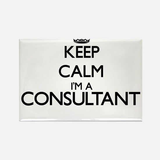 Keep calm I'm a Consultant Magnets