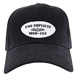 USS IMPLICIT Black Cap with Patch
