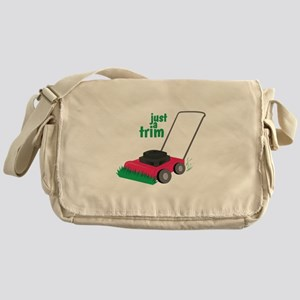 Just A Trim Messenger Bag
