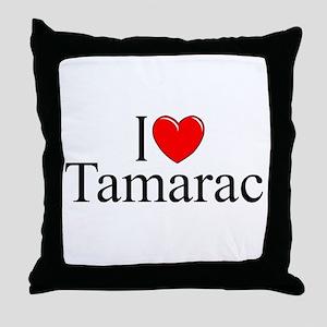 """I Love Tamarac"" Throw Pillow"