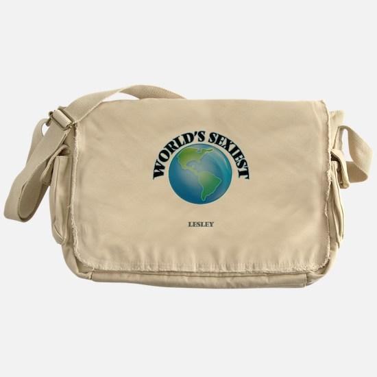 World's Sexiest Lesley Messenger Bag