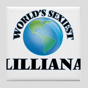 World's Sexiest Lilliana Tile Coaster