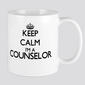 Keep calm I'm a Counselor Mugs