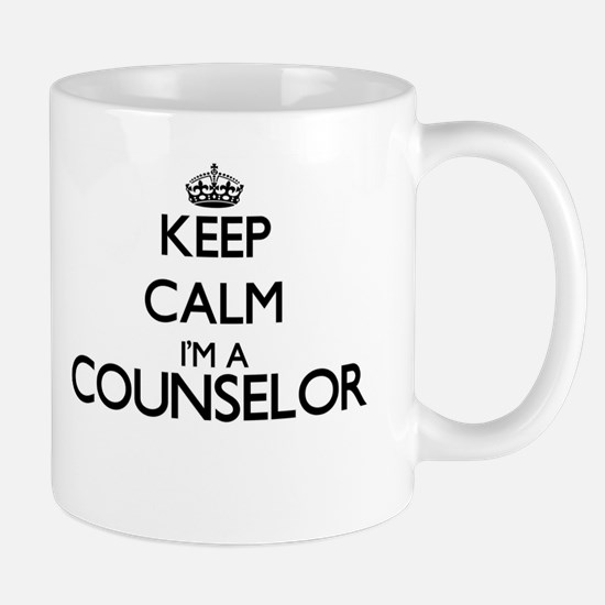 Keep calm I'm a Counselor Mugs
