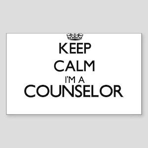 Keep calm I'm a Counselor Sticker