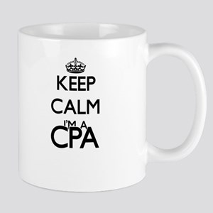 Keep calm I'm a Cpa Mugs