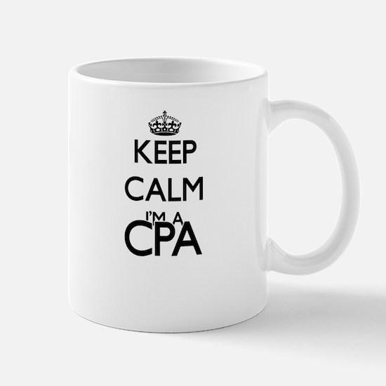 Keep calm I'm a Cpa Mugs