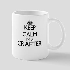 Keep calm I'm a Crafter Mugs