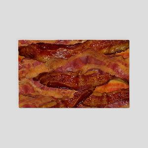 Bacon! Bacon! Bacon! 3'x5' Area Rug