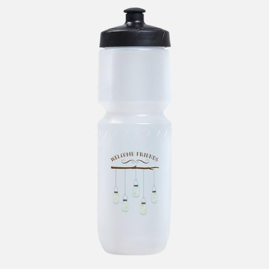 Welcome Friends Sports Bottle