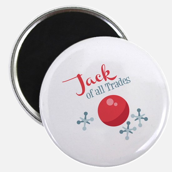 Jack Of All Trades Magnets