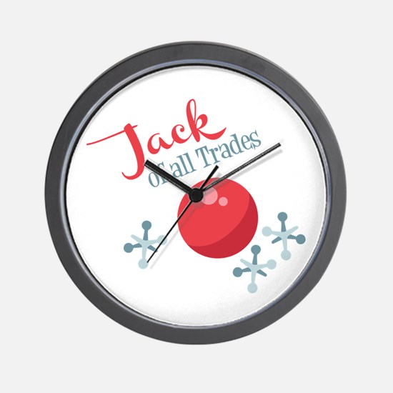 Jack Of All Trades Wall Clock