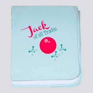 Jack Of All Trades baby blanket