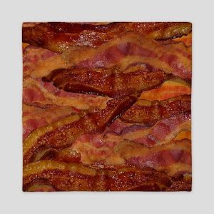 Bacon! Bacon! Bacon! Queen Duvet