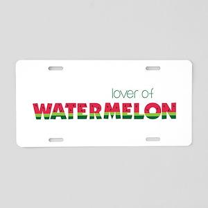 Love Of Watermelon Aluminum License Plate