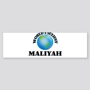 World's Sexiest Maliyah Bumper Sticker