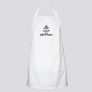 Keep calm I'm a Dietitian Apron