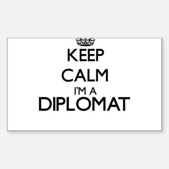 Keep calm I'm a Diplomat Decal