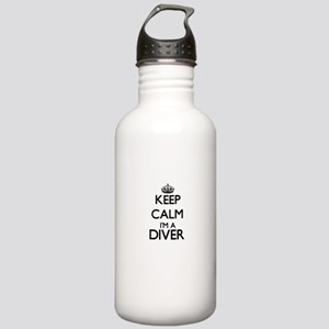 Keep calm I'm a Diver Stainless Water Bottle 1.0L