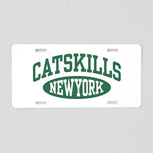 Catskills New York Aluminum License Plate