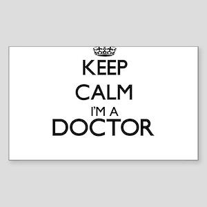 Keep calm I'm a Doctor Sticker