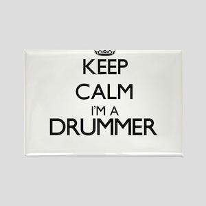 Keep calm I'm a Drummer Magnets