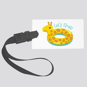 Lets Float Luggage Tag