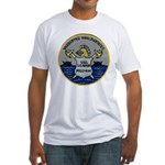 USS LEADER Fitted T-Shirt