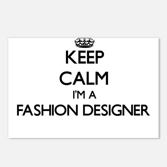 Keep calm I'm a Fashion D Postcards (Package of 8)