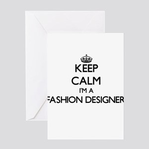 Fashion designer wanted greeting cards cafepress keep calm im a fashion designer greeting cards m4hsunfo