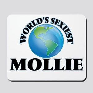 World's Sexiest Mollie Mousepad