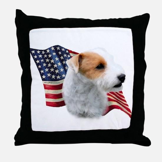 Parson (Broken) Flag Throw Pillow
