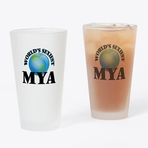World's Sexiest Mya Drinking Glass