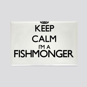 Keep calm I'm a Fishmonger Magnets