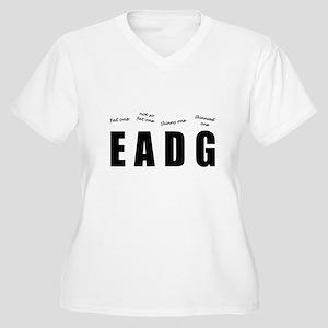 Bass Player (black) Plus Size T-Shirt