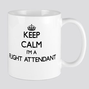 Keep calm I'm a Flight Attendant Mugs