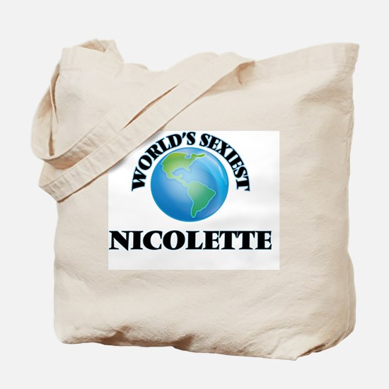 World's Sexiest Nicolette Tote Bag