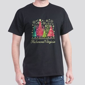 Richmond Virginia Christmas Holiday T-Shirt